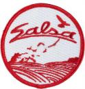 SALSA CYCLES ROUND PATCH