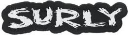 "SURLY LOGO PATCHES 254mm(10"")"